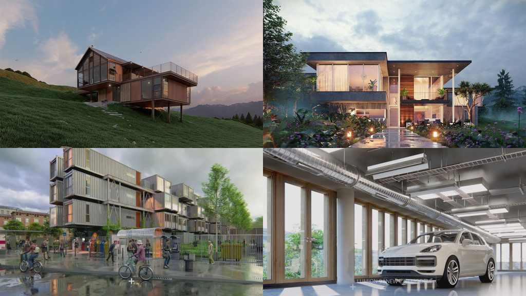 Lumion 9 vs twinmotion 2019 architectural visualization for Rendering online