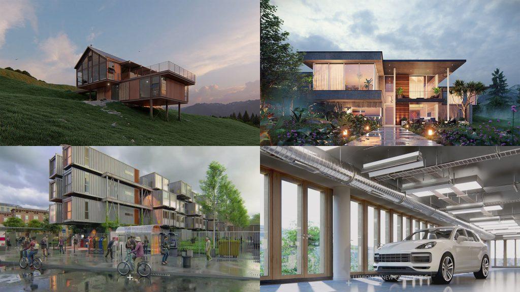 LUMION 9 VS TWINMOTION 2019 | Architectural Visualization